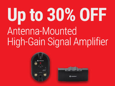 Up to 30% OFF RadioShack Antenna-Mounted High-Gain Signal Amplifier