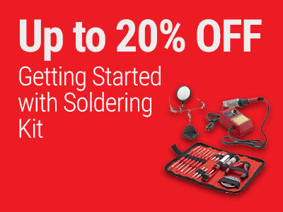 Up to 20% OFF RadioShack Getting Started with Soldering Kit