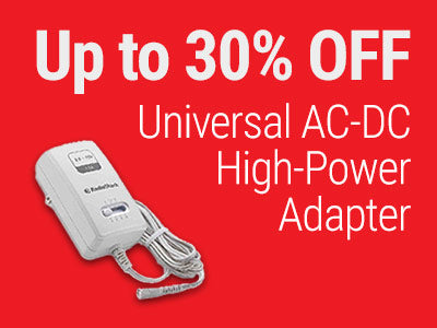 Up to 30% OFF Universal AC-DC High-Power Adapter