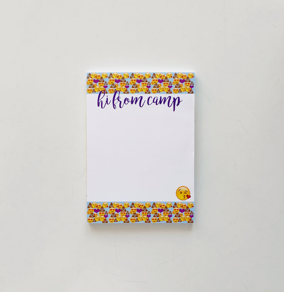 So Many Emojis Camp Notepad
