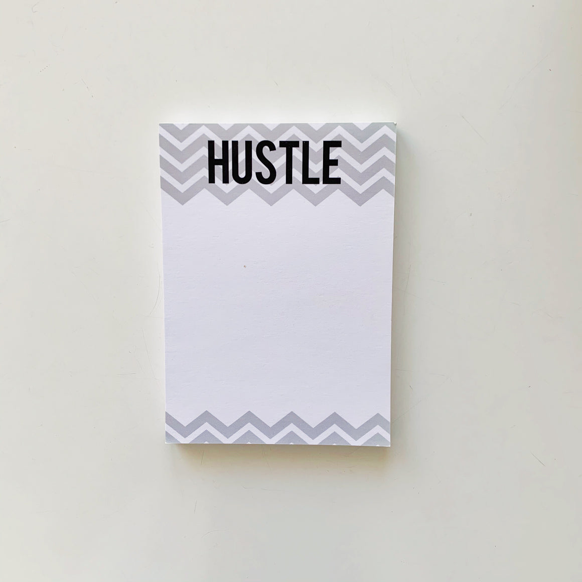 Hustle Chevron Notepad