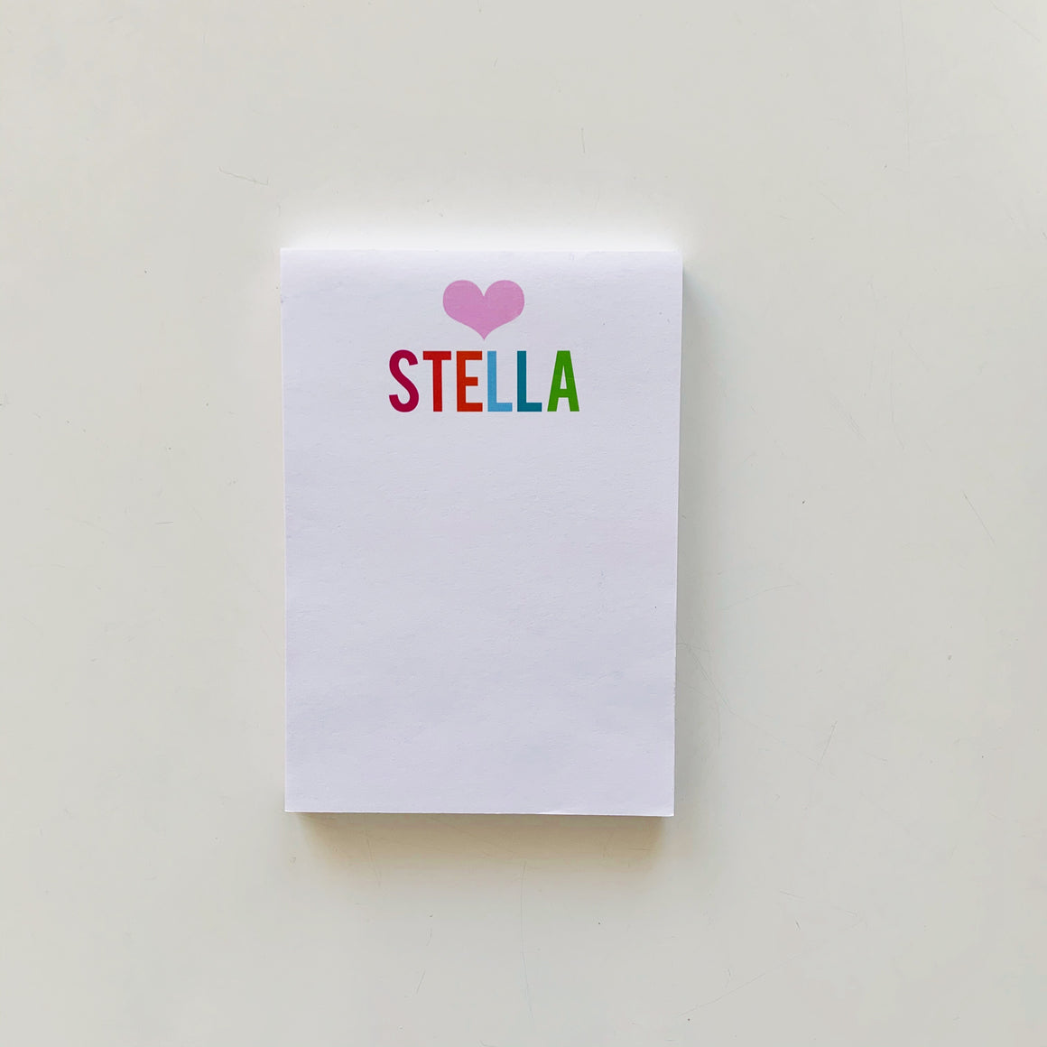 Heart - Bold Multi Notepad