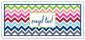 Multi Chevron Mazel Tov Long