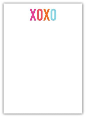XOXO Notepad