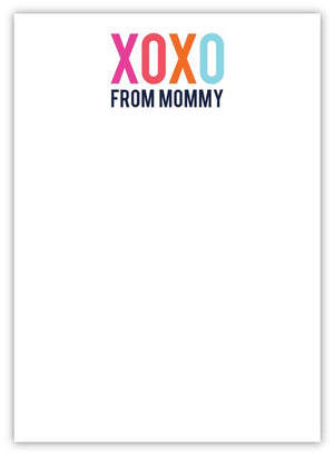 XOXO From Mommy Notepad