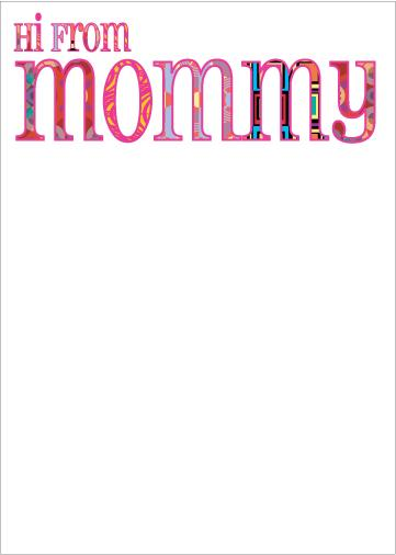 Groovy Mommy Notepad