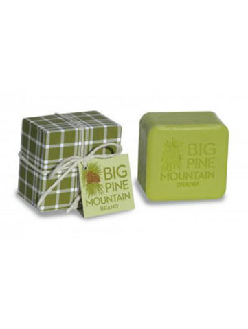 Big Pine Mountain Green Plaid Soap