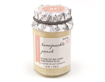 Honeysuckle Peach Candle
