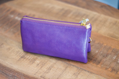 Deep Purple Clutch