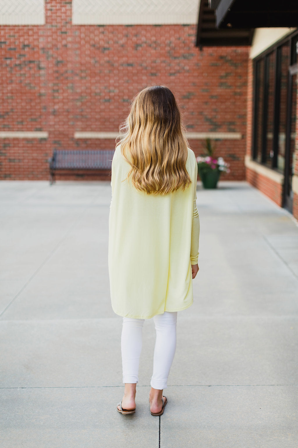 Yellow Long Sleeve Top