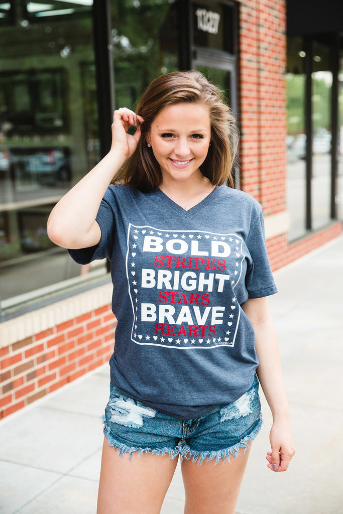 Bold, Bright, Brave T-Shirt