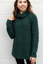 Hunter Green Turtle Neck