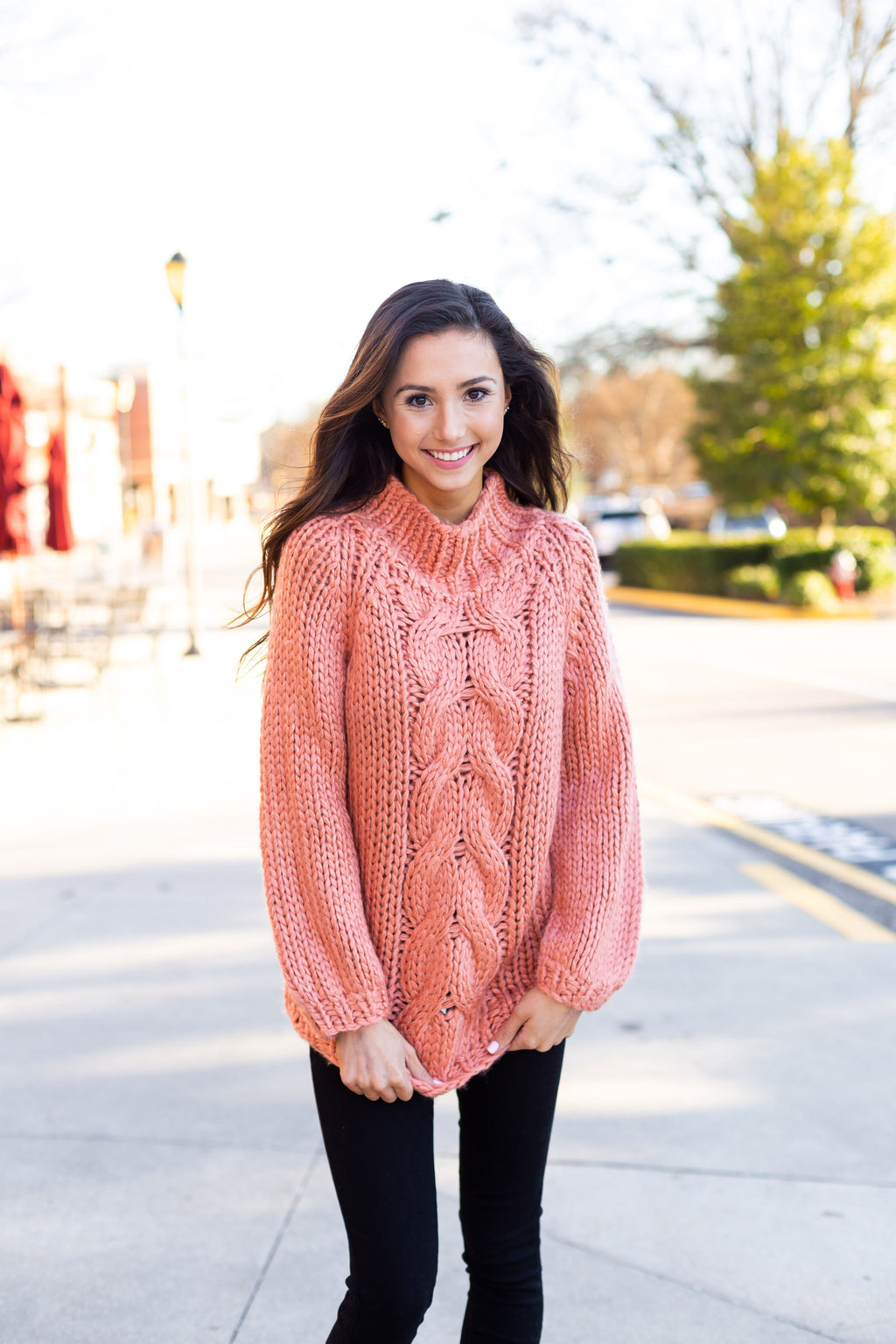 Clay Chunky Knit Sweater