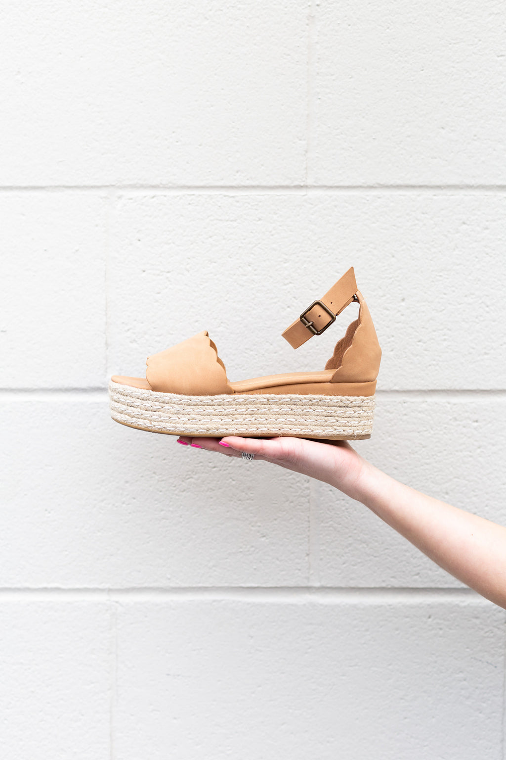 Light Tan Espadrilles