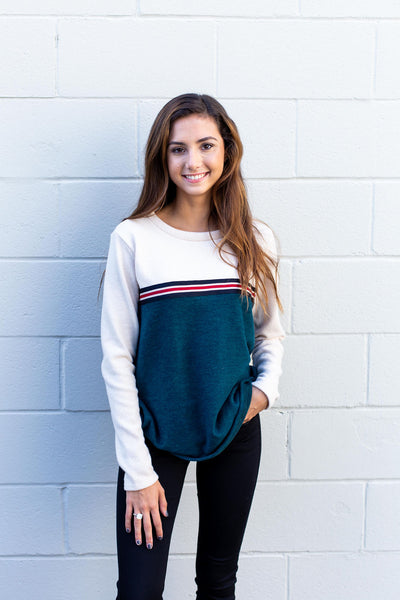 Hunter Green Vintage Sweater