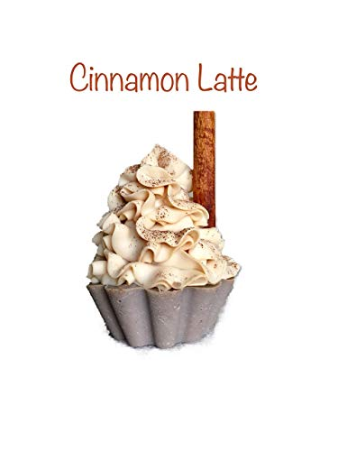 Cinnamon Latte Cupcake Soap