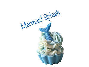 Mermaid Splash Cupcake Soap