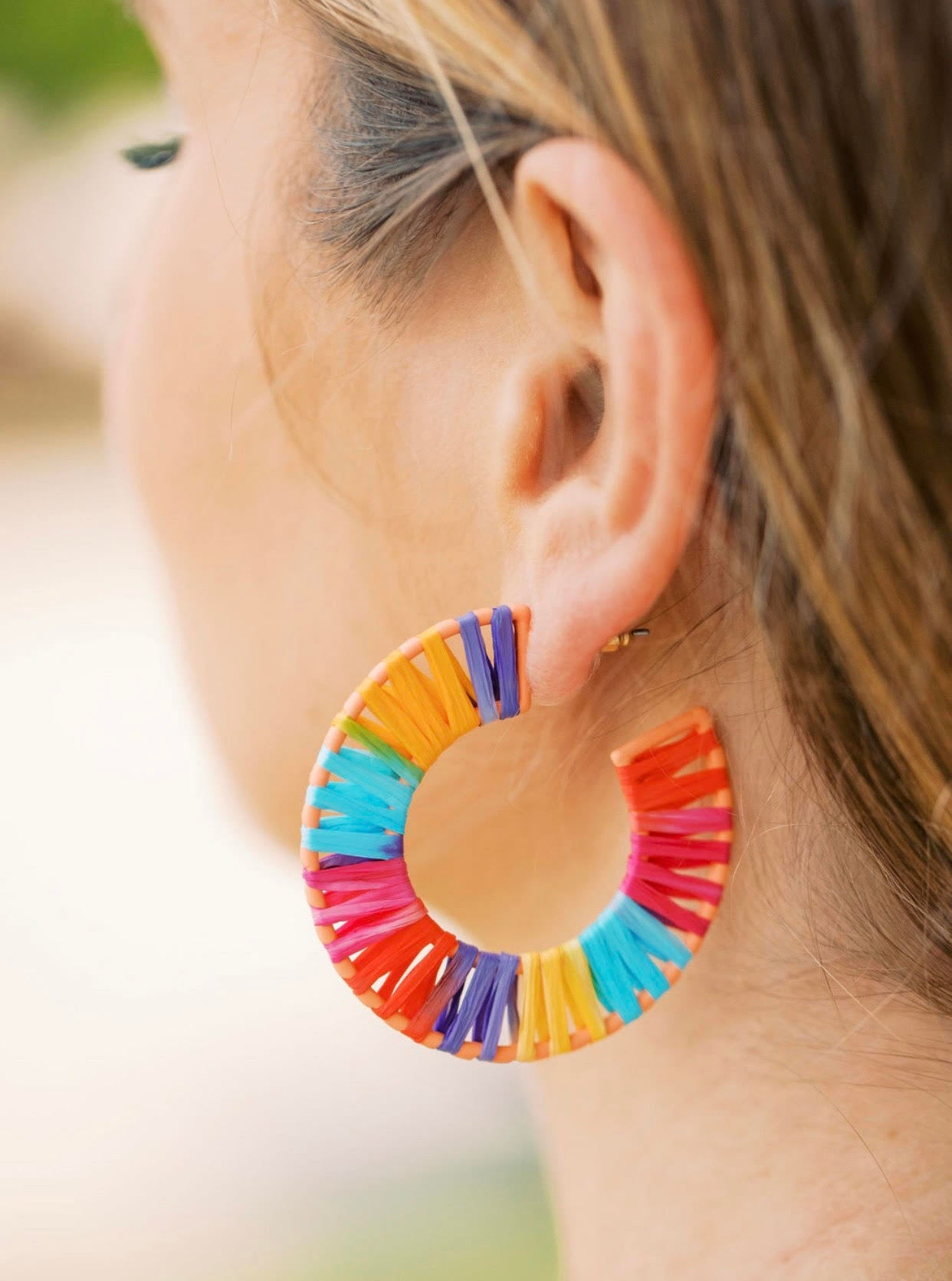 Multi Straw Round Hoops
