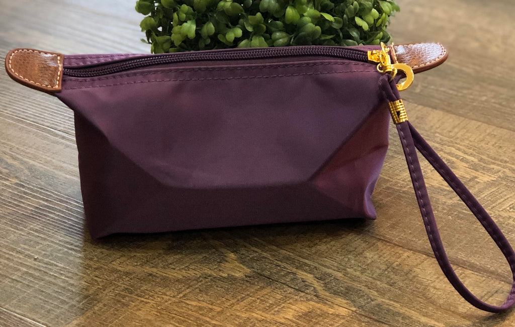 Purple Cosmetic Pouch