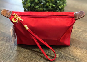 Red Cosmetic Pouch