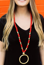 Carolina Strung Necklace - The Millie