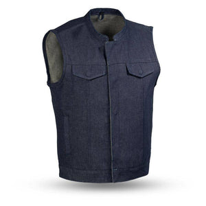Kershaw | Men's Rough Neck Denim Vest - Stofma  Hub