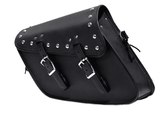 PVC Solo Swing Arm Bag With Studs