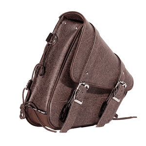 Brown PVC Solo Swing Arm Bag Left Side - Stofma  Hub