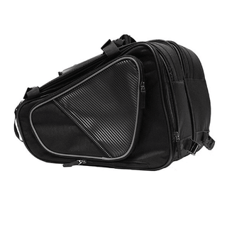 Textile Motorcycle Bag With Reflective Piping - Stofma  Hub