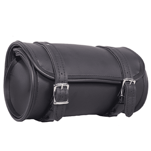 Plain PVC Motorcycle Tool Bag With 2 Roller Buckle Straps