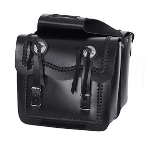 Waterproof Leather Motorcycle Saddlebag