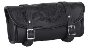 Motorcycle Tool Bag with Flames - Stofma  Hub
