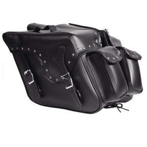 Throwover PVC Motorcycle Saddlebag - Stofma  Hub