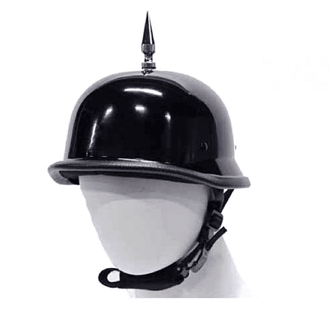 Image of 1 Spike German Shiny Novelty Helmet | Novelty - Stofma  Hub