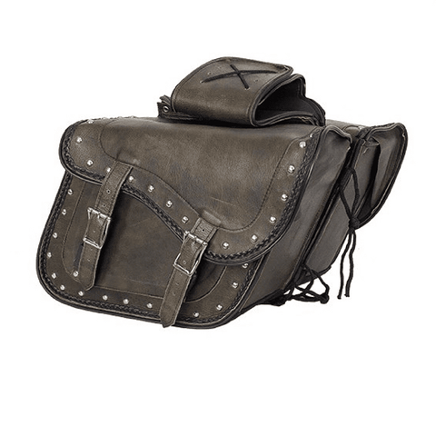 Genuine Distressed Brown Leather Concealed Carry Saddlebag - Stofma  Hub