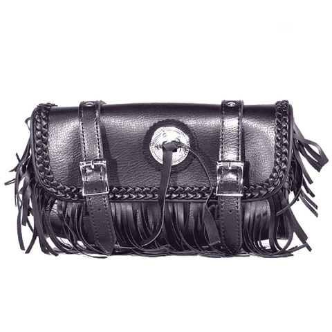 Motorcycle Tool Bag With Braid, Fringes & Concho - Stofma  Hub