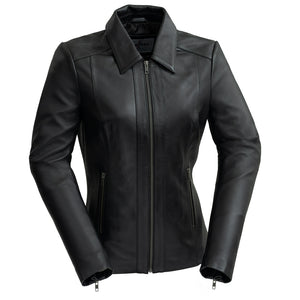 Patricia | Women's Leather Jacket - Stofma  Hub