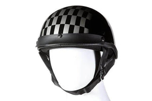 DOT Approved Motorcycle Helmet W/ Race Flag Graphic - Stofma  Hub