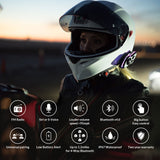 LEXIN LX FT4 2PCS 1 4 Rider Motorcycle Bluetooth Helmet Headset Intercom with FM radio for Motorcycle/Off Road/Snowmobile - Stofma  Hub
