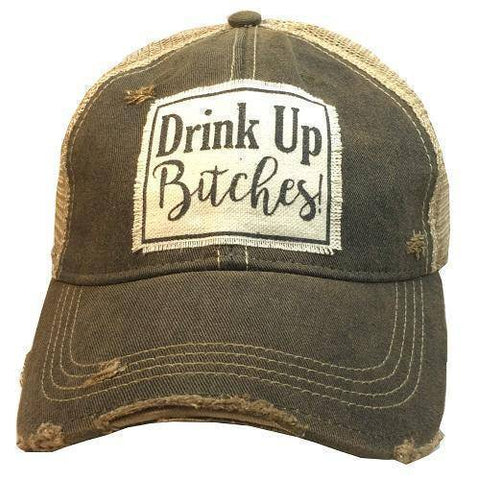 Drink Up Bitches Baseball Cap - Stofma  Hub