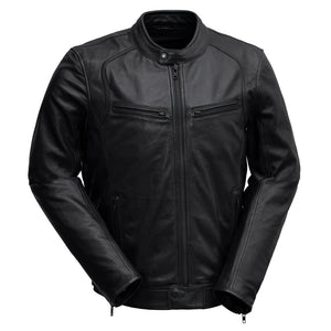Clark | Men's Leather Jacket - Stofma  Hub