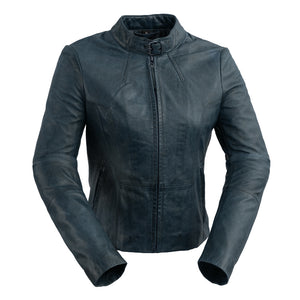 Rexie | Fashion Cut Leather Jacket - Stofma  Hub