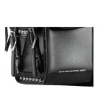 PVC Motorcycle Saddlebag With Quick Release & Studs