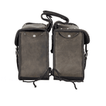 Genuine Distressed Brown Leather Concealed Carry Saddlebag