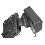 Black Concealed Carry Saddlebag with Studs - Stofma  Hub
