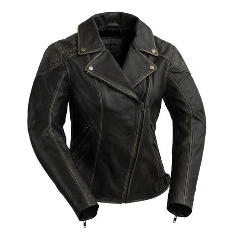 Stephanie | Women's Leather Jacket - Stofma  Hub