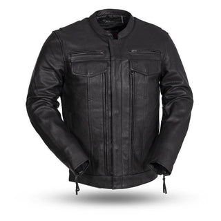 Raider | Club Style Jacket With Preacher Collar