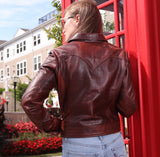 Charlotte | Women's Leather Jacket - Stofma  Hub