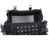 PVC Motorcycle Saddlebag With Lock - Stofma  Hub