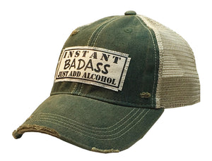 Instant Bad Ass Trucker Hat